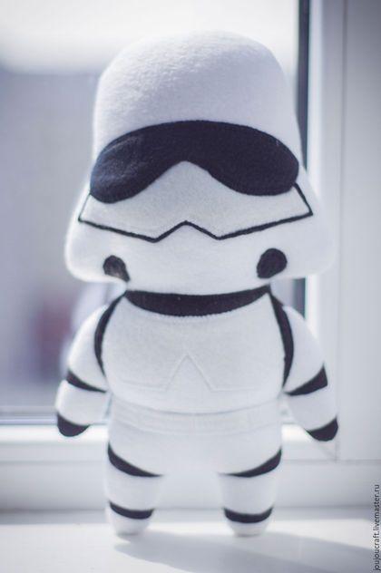 Star Wars Stormtrooper fabric toy / Человечки ручной работы. Заказать Штурмовик (Звездные войны, Star Wars, Stormtrooper). Алиса. Ярмарка Мастеров. Штурмовик, авторская работа