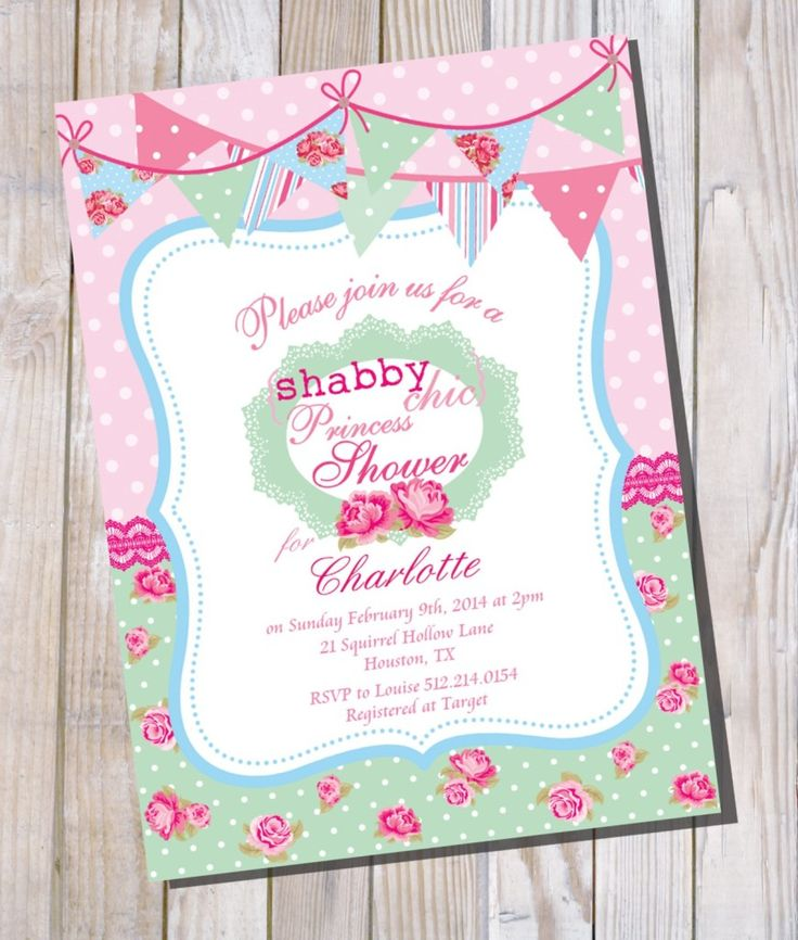 705 best Invitations Card by Nataliesinvitation images on - baby shower invitations for word templates