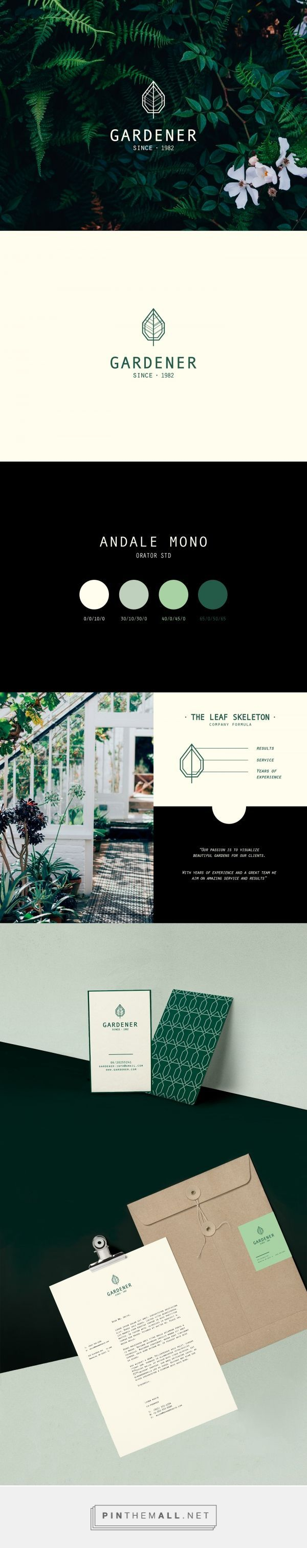 The Gardener Landscaping Company Branding by Lioness Graphic Design | Fivestar Branding Agency – Design and Branding Agency & Curated Inspiration Gallery