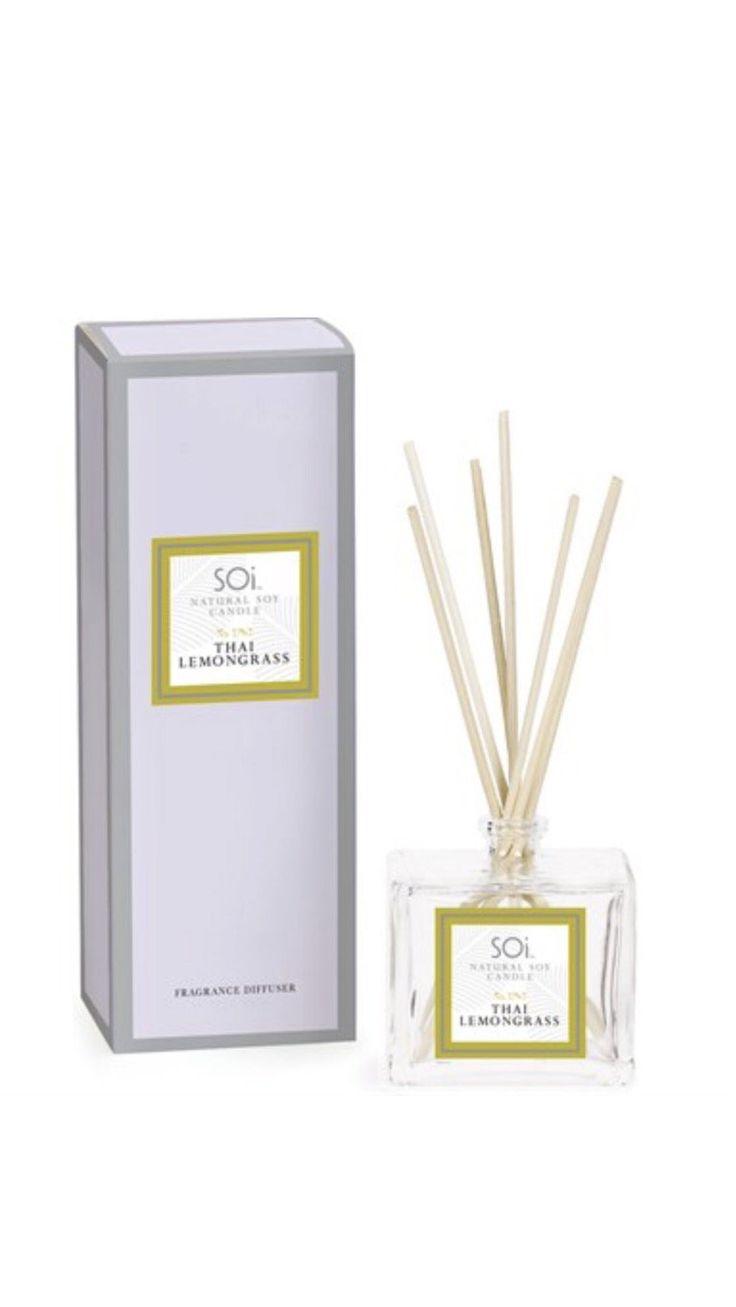 SOi Luxury Reed Diffuser - Thai Lemongrass  #Luxury #Fragranceoils #fragrance #essentialoil #premiumquality #offer #reed #Greatgifts #luxurysoycandles #Reeddiffusers