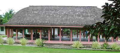 Samoan fale (house)