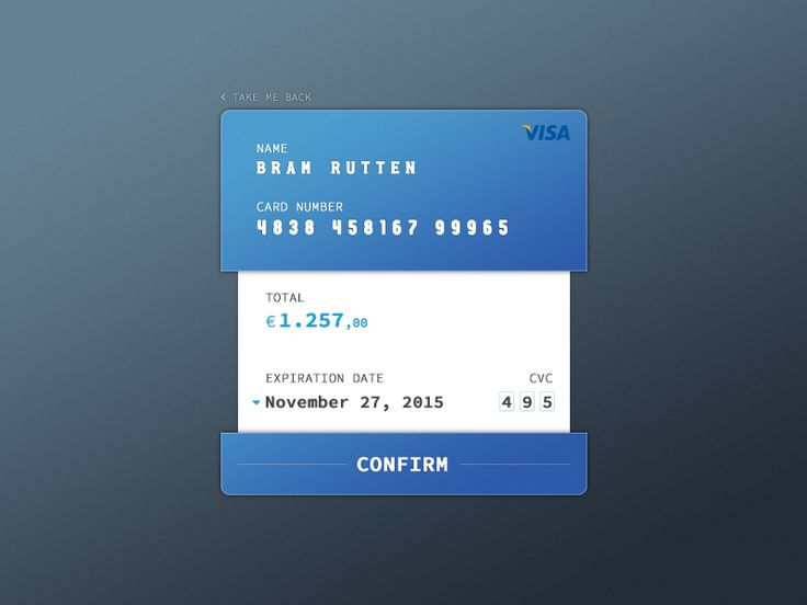 002.Credit Card Checkout