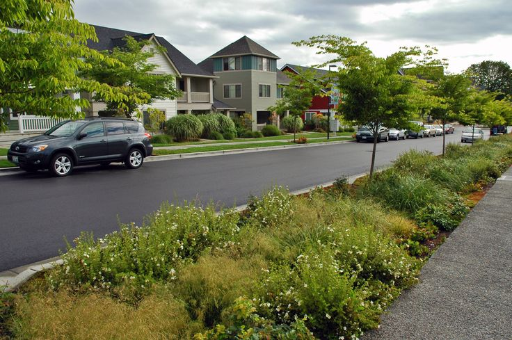 High point neighborhood bioswale bioswales pinterest - Sustainable urban planning and design ...