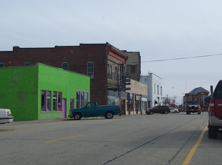 Rantoul, Illinois.