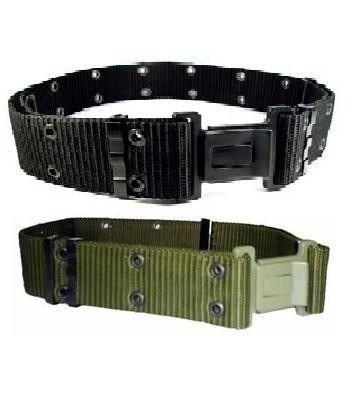 Cinto NA - Tático - Cinturão - Padrão RUE - EB - Confeccionado em Fita de Polipropileno; - Pode ser utilizado em conjunto com os coletes táticos; - Utilizado para fixação de porta-acessórios; - Cintura ajustável através de passadores de metal; - Possu