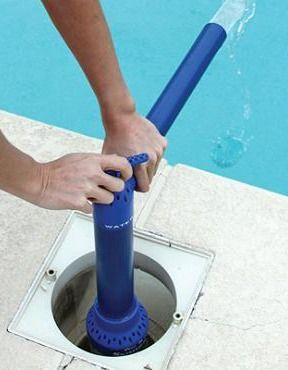 noria pool pump how to use