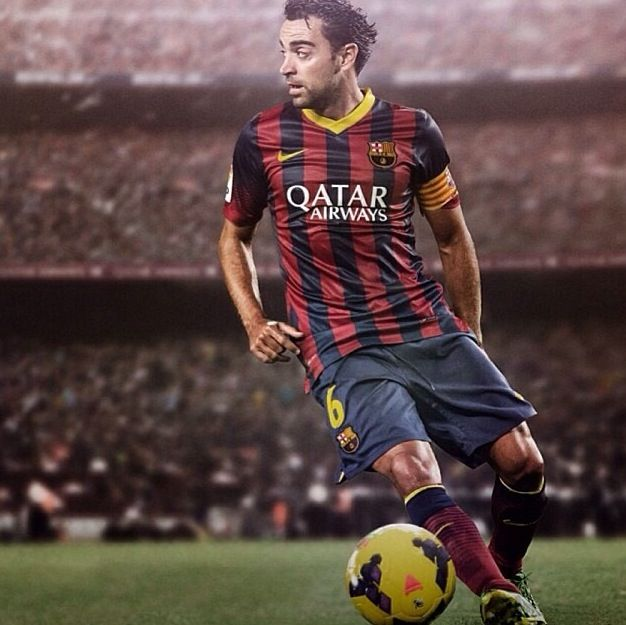 Xavi:                                           FC Barcelona