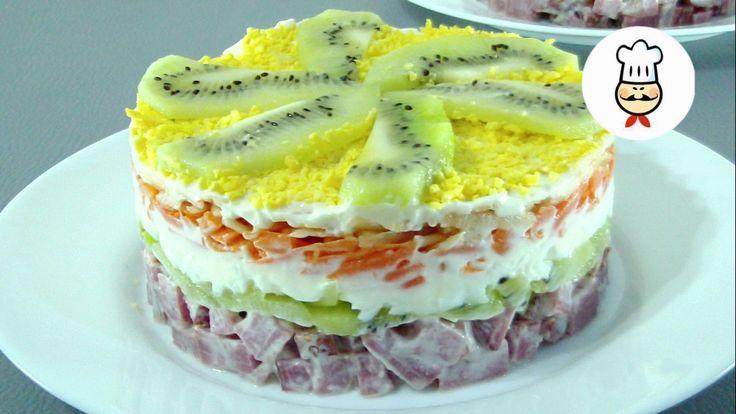 Ингредиентыговядина копченая – 250 гр. морковь вареная – 2 ...
