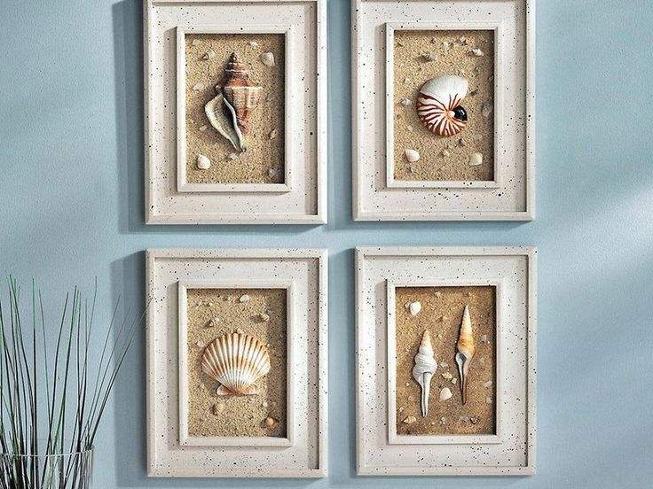 Seashell bathroom ideas