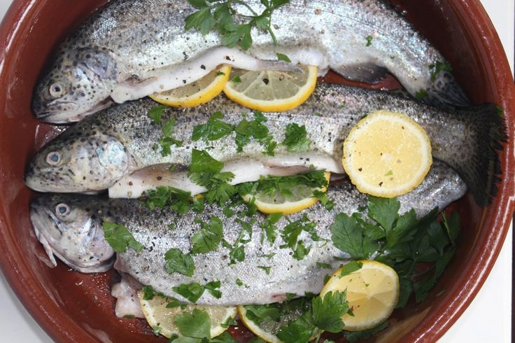 recept Forel met citroen