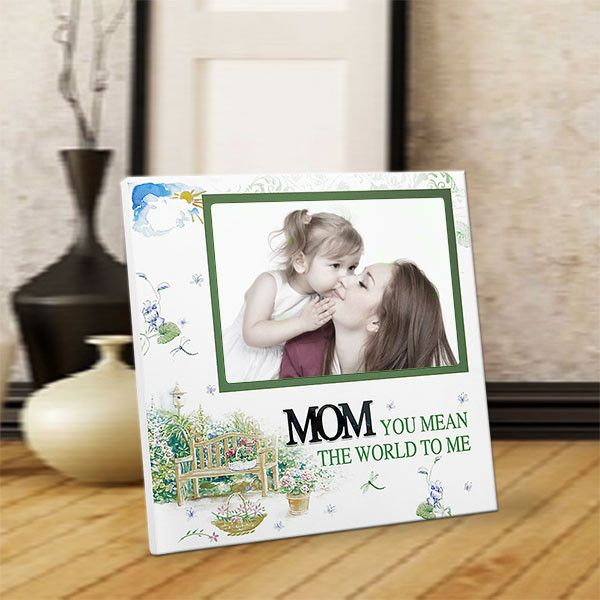 Mom You mean world to me Mom You mean world to me. | Rs. 824 | Shop Now | https://hallmarkcards.co.in/collections/mothers-day-2016/products/send-mothers-day-frame