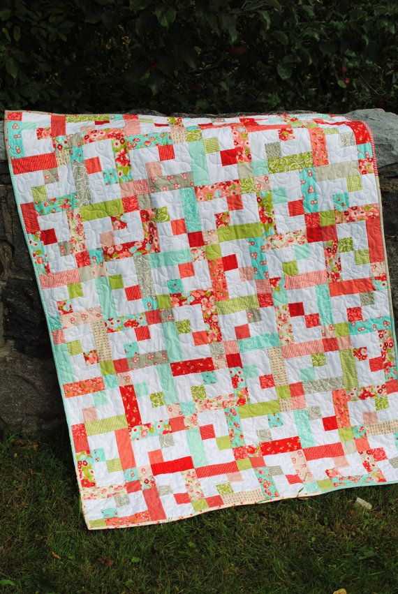 104 best images about strip quilts on Pinterest