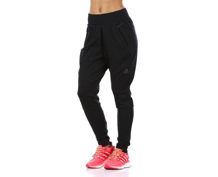 adidas - ZNE Pant | Housut | Musta   | Sportamore.fi