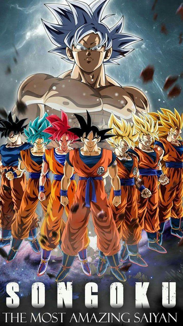 Son Goku Di 2020 Dragon Ball Goku Kartun