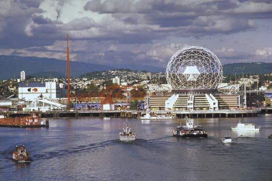 """The #Vancouver 1986 world Expo theme was """"Transportation and Communication: World in Motion - World in Touch"""" #ExpoStory #Expo2015"""