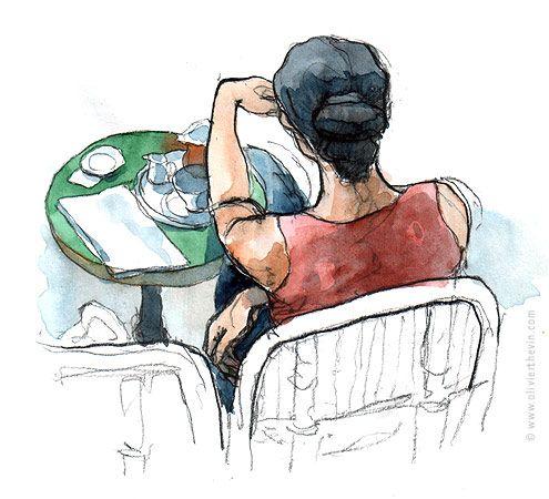 carnets de route, croquis, dessins et illustrations personnelles