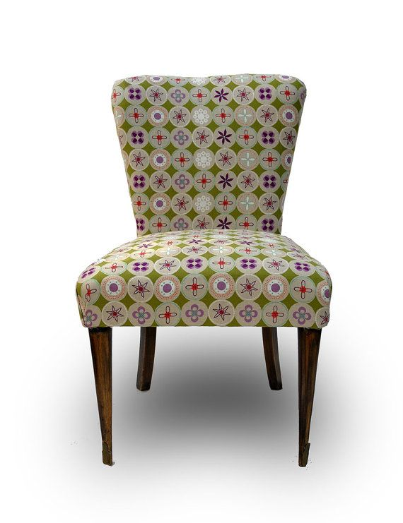 reloved Vintage Armchair '50 reinvented with new by pl2a1design, €220.00