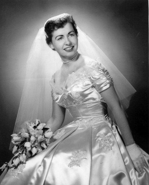1950's bride Cleveland, Ohio | Vintage Brides