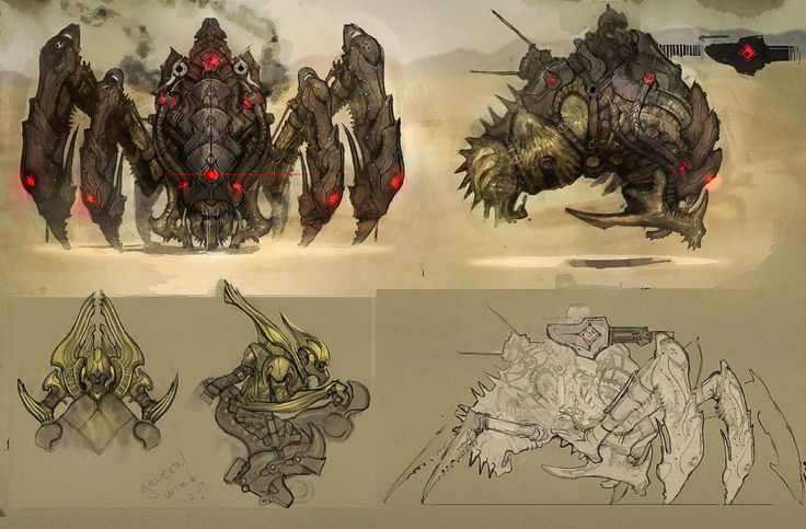 Gears of War Judgment Locust concept