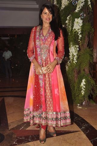 Sameera Reddy at the Genelia D'Souza - Riteish Deshmukh Sangeet in Neeta...