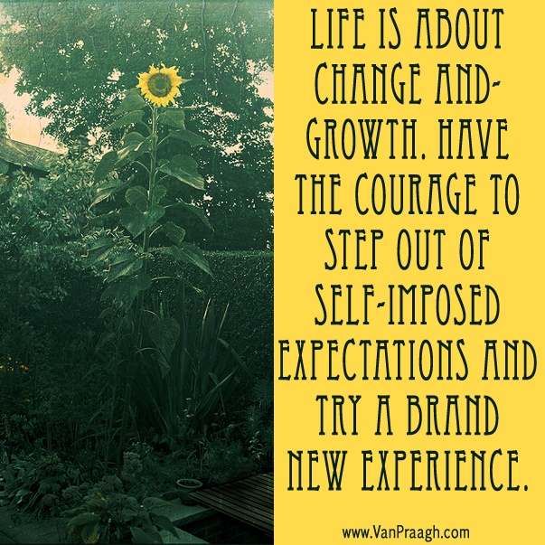 Quotes About Change And Growth: Life Is About Change And Growth...