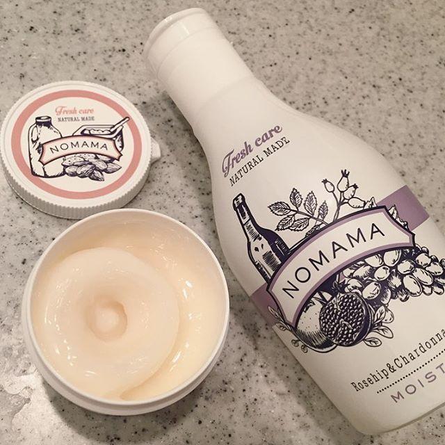 化粧水と保湿クリームを新調  乾燥肌×敏感肌ですぐカサカサになっちゃうんだけど  NOMAMAのクリームはモッチモチになる✨  匂いは清々しい匂いデス ˒˒おすすめ!  化粧水は密封ボトルでつくられてるから酸化しないし  押してちょっとずつ出るからいいー  #japan##japanese#beauty#skincare#natural#additive#nomama#mama#like#relaxtime#skin#japanmade#organic