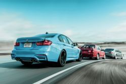 Then vs. Now: 2015 BMW M3 vs 2006 E46 vs 1991 E30