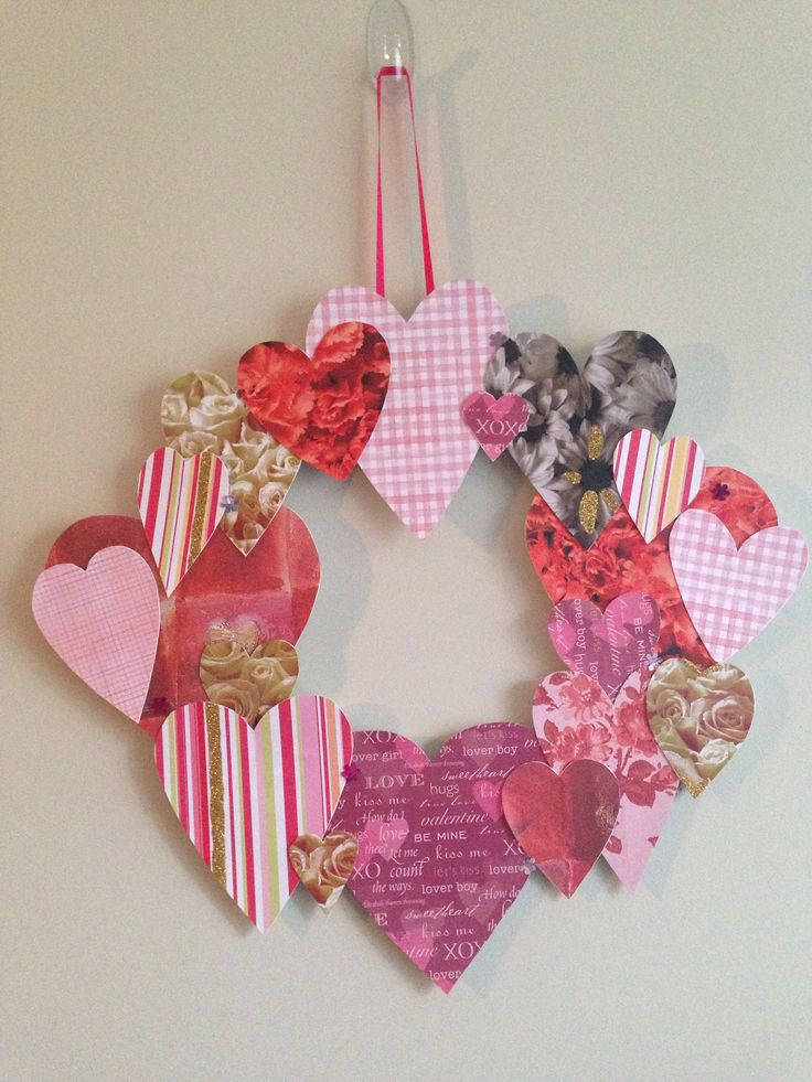 Valentine's Day wreath!