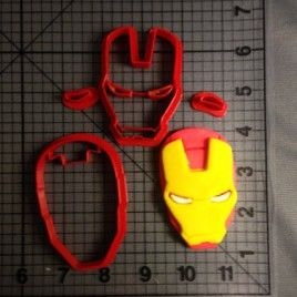 Iron Man Face Cutter Set