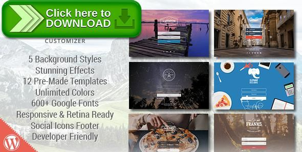 [ThemeForest]Free nulled download Loginstyle WordPress Login Page Styler from http://zippyfile.download/f.php?id=47981 Tags: ecommerce, branding, custom image background, custom login form, custom logo, login, login customizer, Login Styler, slider, slider background, social, video background, wordpress custom login, WordPress Login, wp-login, youtube