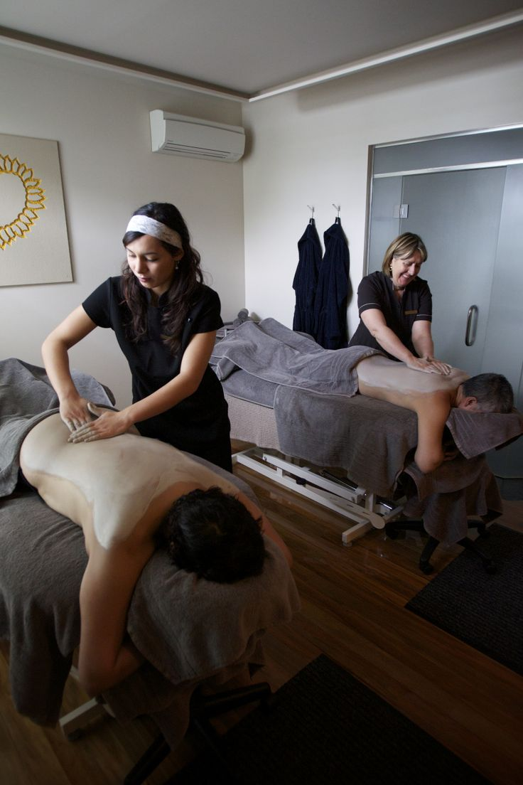 Perfect wedding gift - spa therapy in our dual therapy room!