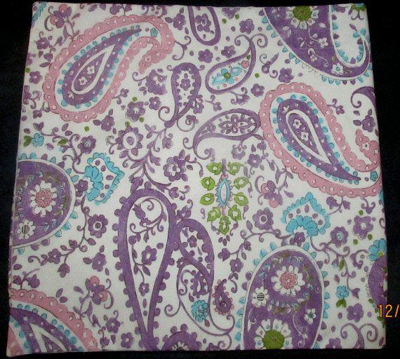 ON SALE Brooklyn Girls Paisley Fabric Room Window Valance made w Pottery Barn Kids on Etsy, $19.80