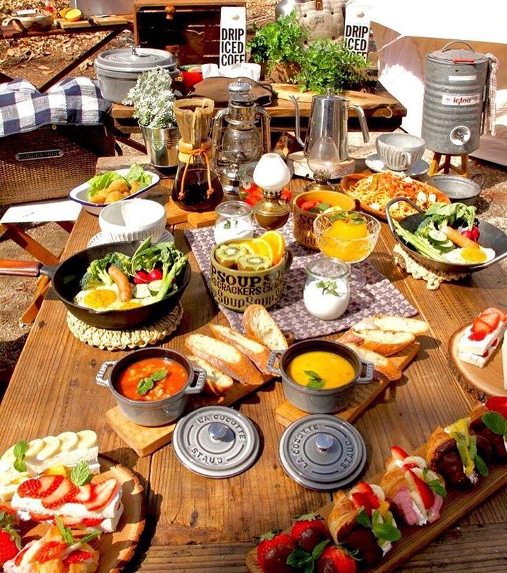 #camping #outdoor #ig_japan #camp #キャンプ #キャンプ飯 #instafood #cafe #カフェ #朝ごはん #ソトごはん #アウトドア # * * 2017.5.4. * * おはようございます(*≧▽≦)ノシ)) * * 白樺カフェでまったり朝ごはん * * お天気よくて気持ちいー❁.*⋆✧°(●´ᆺ`) ...