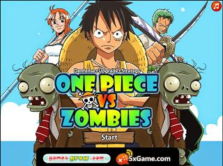 One Piece vs Zombies [Flash Game for PC] - One-Piece Games   Android, PS, PC, Online