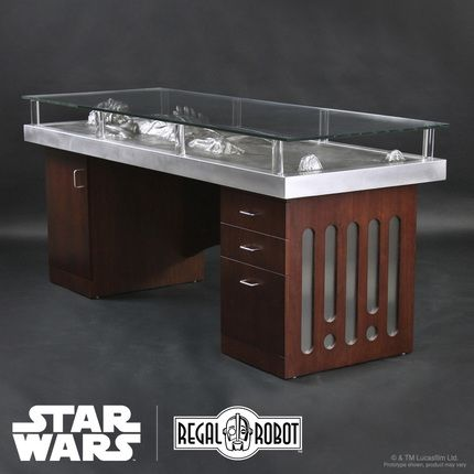 Han Solo Carbonite Desk by Regal Robot | Prop Store - Ultimate Movie Collectables