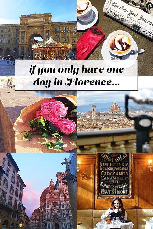History In High Heels: If You Only Have One Day in Florence