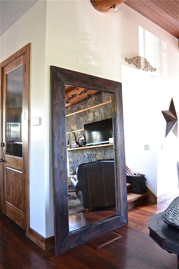 Floor Mirror Country Design Style #floormirror http://countrydesignstyle.com