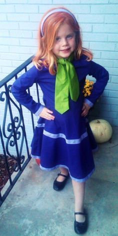 Daphne (Scooby Doo) little girls costume