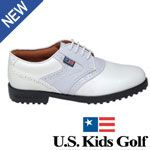 US Kids Golf US Kids Girls Lavender Saddle Golf Shoes with traditional lace-u Shoes are as important for kids playing golf as they are for adults-perhaps even more so. Proper balance and tempo are two key ingredients in the development of a good golf swing. The right pair of go http://www.comparestoreprices.co.uk/golf-shoes/us-kids-golf-us-kids-girls-lavender-saddle-golf-shoes-with-traditional-lace-u.asp