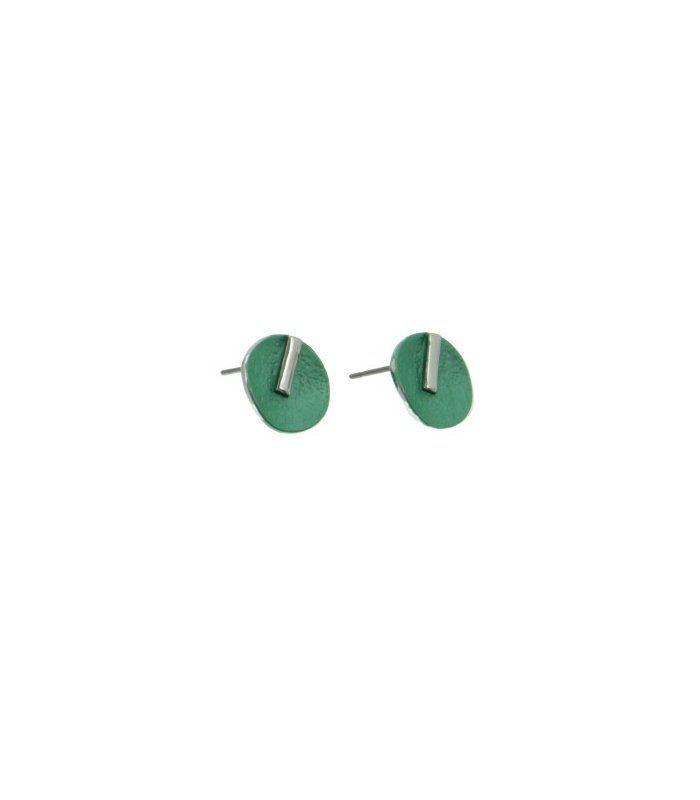 Oorbellen smaragdgroen