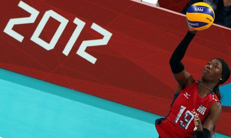Destinee Hooker leads USA women to Olympic volleyball final | Sport | guardian.co.uk