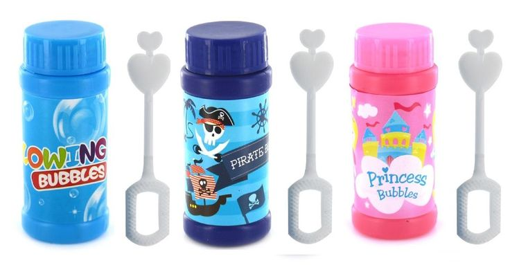 New Pack Kids Blowing Blow Bubbles Childrens Party Bag Fillers Wedding Favours in Home, Furniture & DIY, Celebrations & Occasions, Party Supplies   eBay
