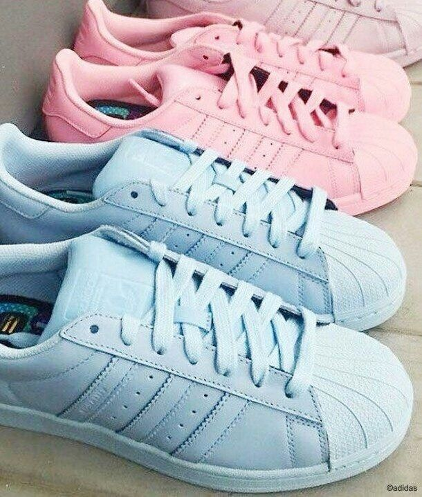 adidas, fashion, pink&blue