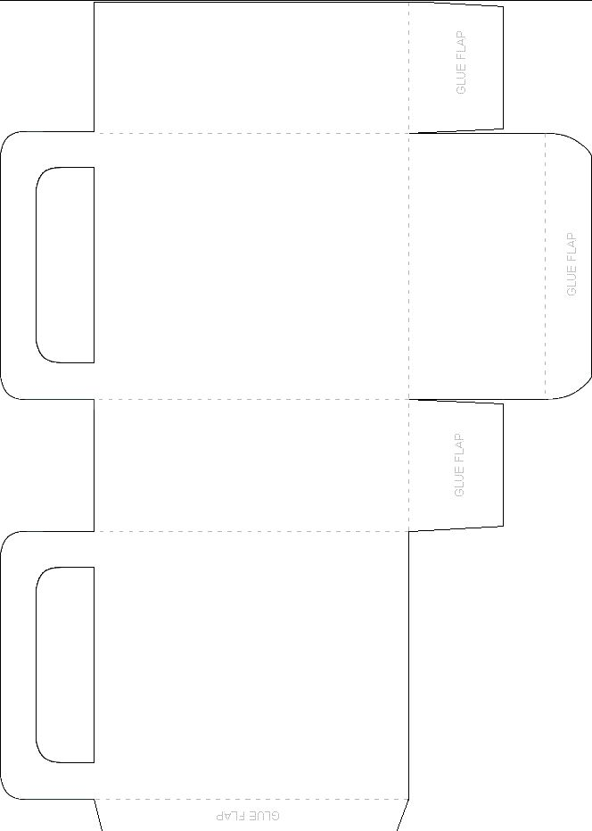 how to make a paper gift bag templates images template design ideas