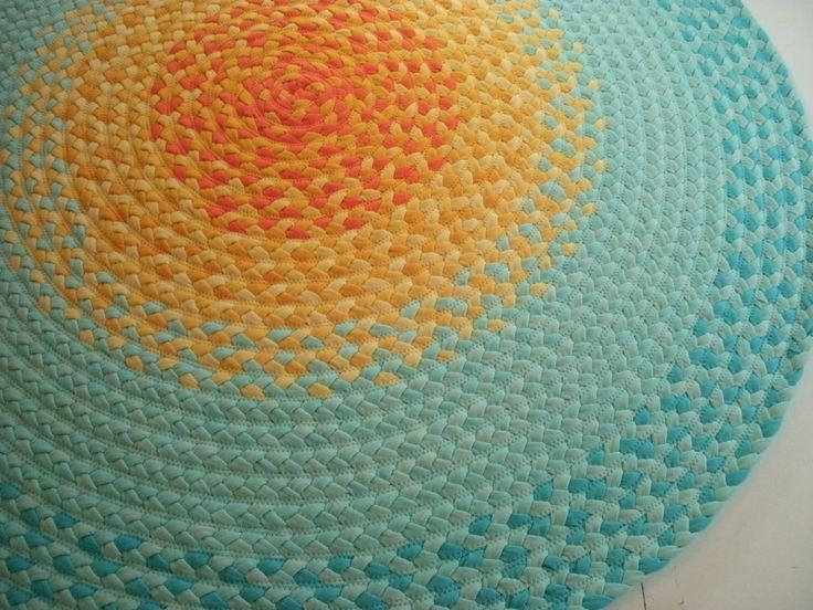misty mint and golden yellow Sun Rug created from New Organic USA fabric. $125.00, via Etsy.Sun Rugs, Rugs Create, Golden Yellow, Yellow Sun, Usa Fabrics, Organic Usa, Misty Mint, Sunshine Rugs, Floors Rugs