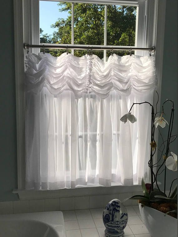 Shown As Cafe Curtains These Will Give Some Privacy And Allow The Light To Shine Through Your Windows