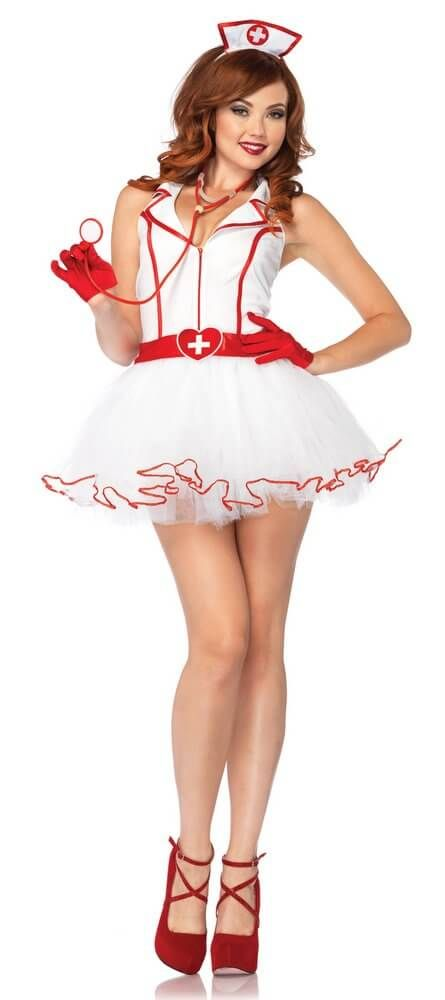 Leg Avenue Ravishing RN Adult Nurse Costume
