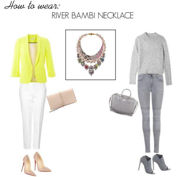River bambi necklace
