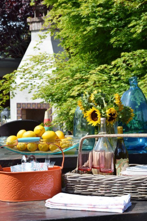 Bring Your Dinner Party Outside With These Great Patio Dining Accessories  From HomeGoods. Sponsored Pin