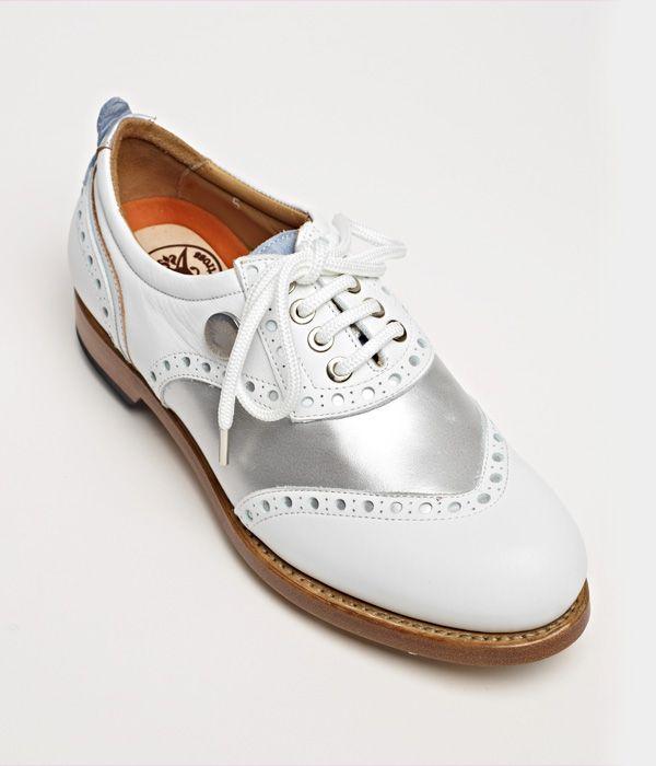 Ladies' Collection > Diamond Lottie: Royal Albartross Luxury Golf Shoes
